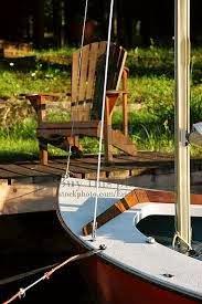 Cottage sailboat